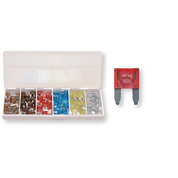 Coffret F 40 fusibles US mini - 120 pcs